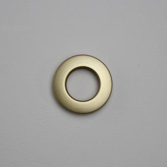 Stoffösen Ø24mm - 0-4mm Stoffstärke - Messing-Matt - 10 Stück