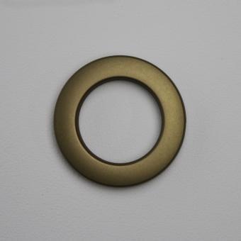 Stoffösen Ø40mm - 0-4mm Stoffstärke - Messing-Antik - 10 Stück