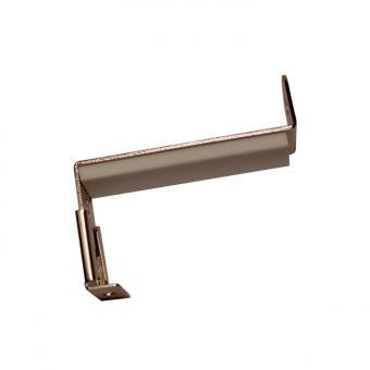 Spannfix Gardinenstange - Adapter für Fensterflügel 20 - 28mm Weiß