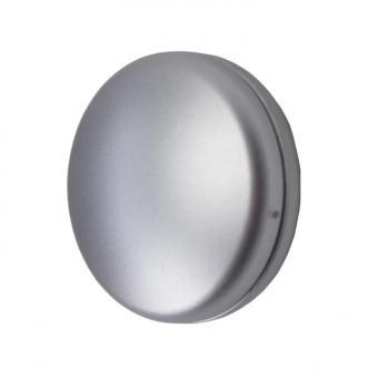 Drapier- & Dekomagnet - Rund - 28mm Durchmesser - 2 Paar - Chrom-Matt