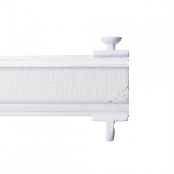 Paneelwagen Premium - für Schiebevorhang - Tellergleiter für 4-6mm Lauf - weiß