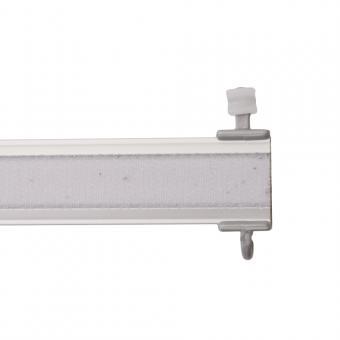 Paneelwagen Premium - für Schiebevorhang - X-Gleiter für 6mm Lauf - alu-matt 50 cm
