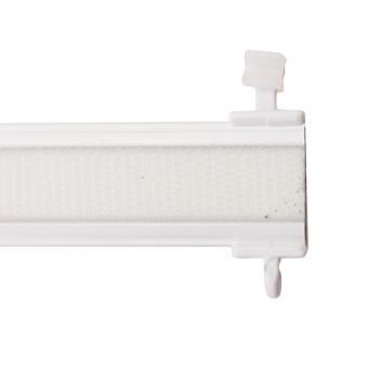 Paneelwagen Premium - für Schiebevorhang - X-Gleiter für 6mm Lauf - weiß 60 cm