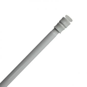 Spannstange Sticky - Selbsthaftende Gardinenstange - Weiß