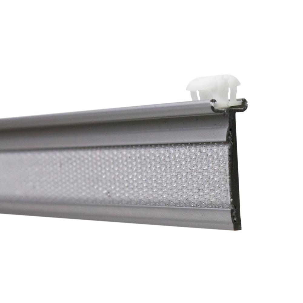 paneelwagen switch gleiter f r 6mm lauf kleine lichtfuge alu matt for a. Black Bedroom Furniture Sets. Home Design Ideas