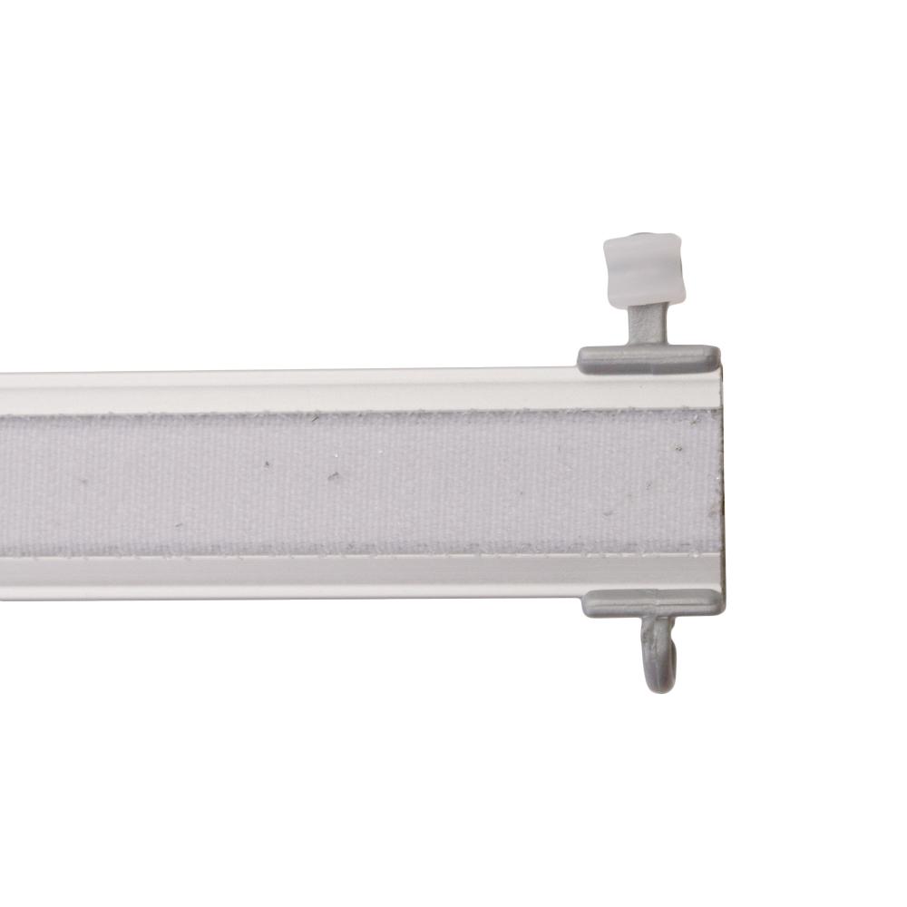 paneelwagen premium f r schiebevorhang x gleiter f r 6mm lauf alu matt for. Black Bedroom Furniture Sets. Home Design Ideas