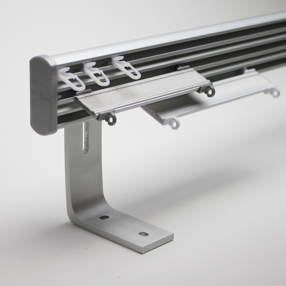 aluminiumschiene trigo 3 l ufig farbe alu matt wandmontage 13 5cm winkel. Black Bedroom Furniture Sets. Home Design Ideas